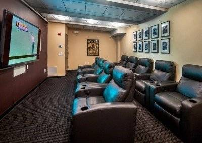 Common area media room