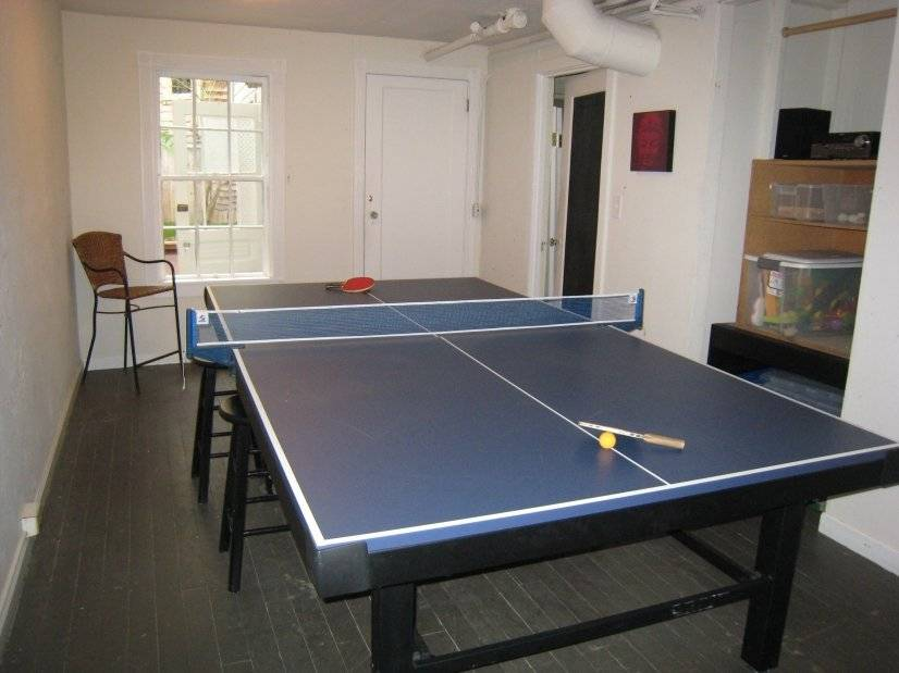 Game room and activities included