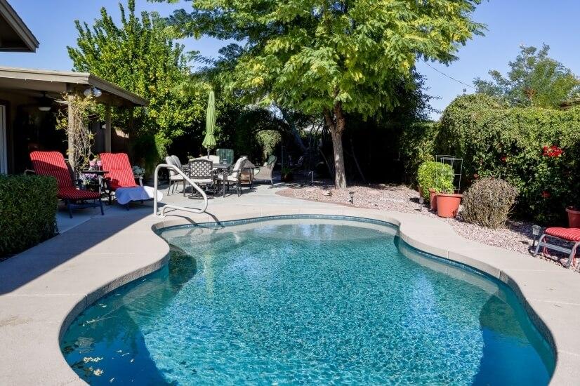 Gorgeous, outdoor living backyard