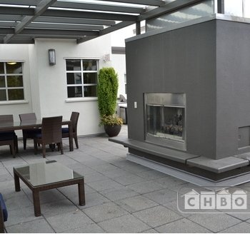 Rooftop Patio with Barbeque