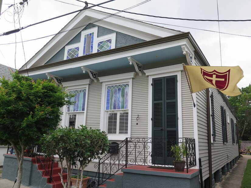 image 1 furnished 1 bedroom Townhouse for rent in Mid-City, New Orleans Area