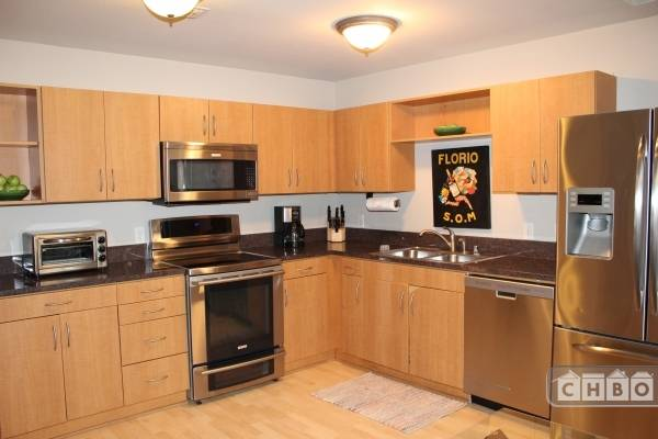 kitchen, stainless steal appliances