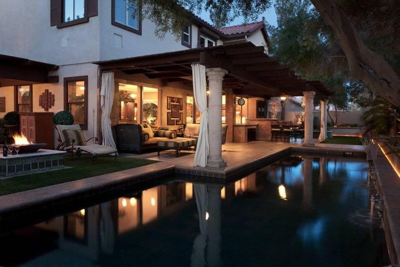 Come and relax in our wonderful backyard oasis