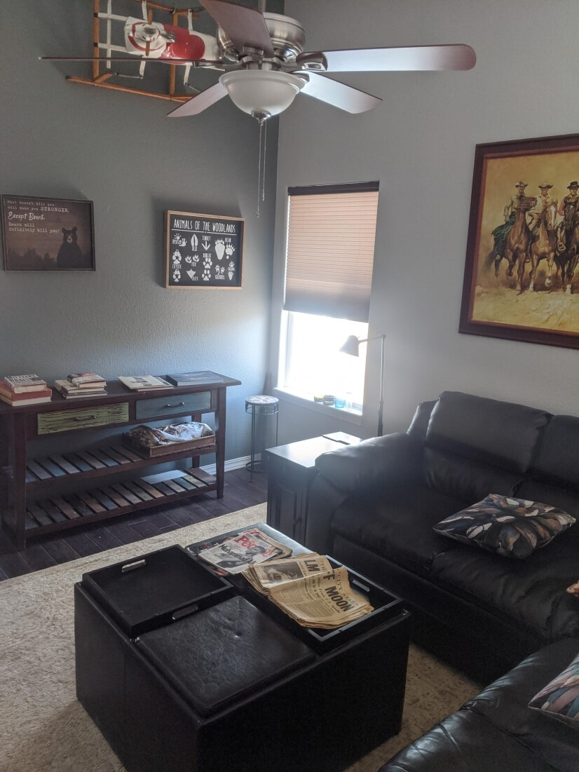 Mid Level Family Room