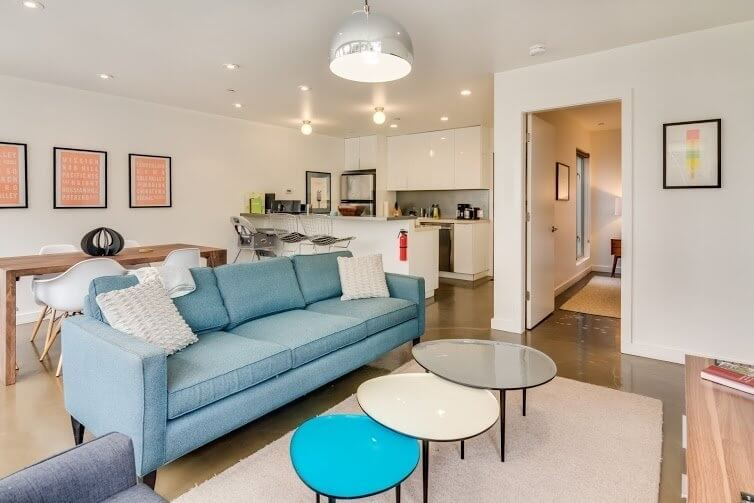 Modern, High-End, 1 Bed, NOPA