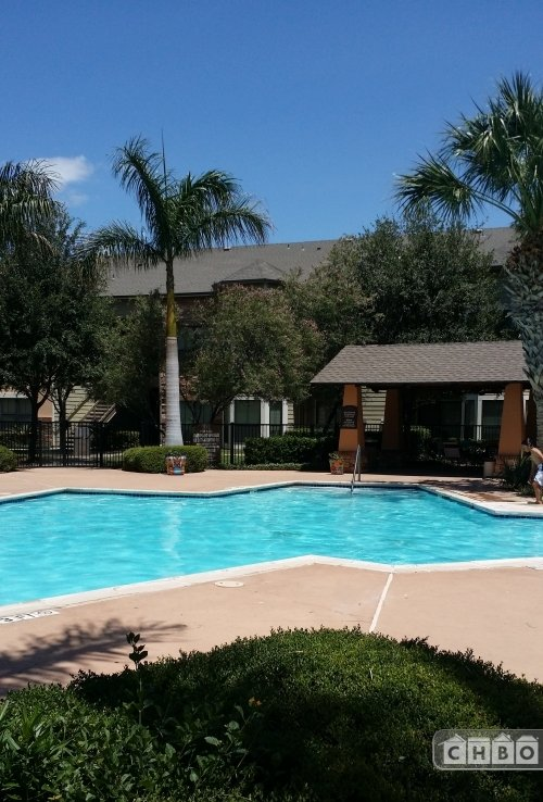 Relax in one of 2 resort style pools at Carmel