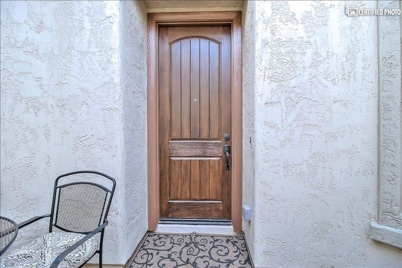 Front door. All doors are upgraded.