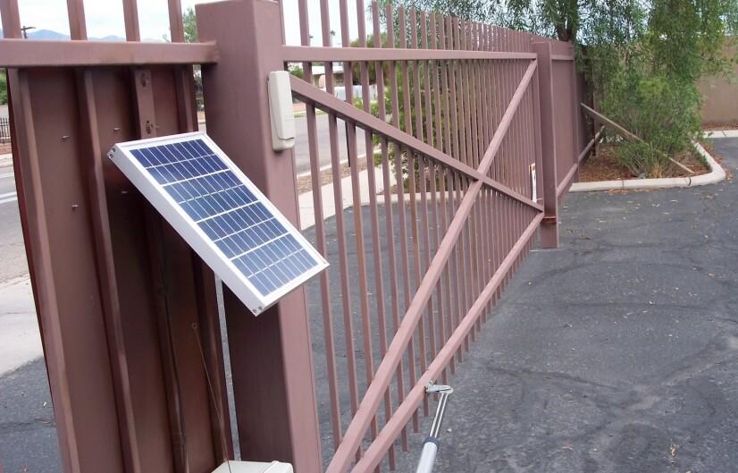 Solar gate