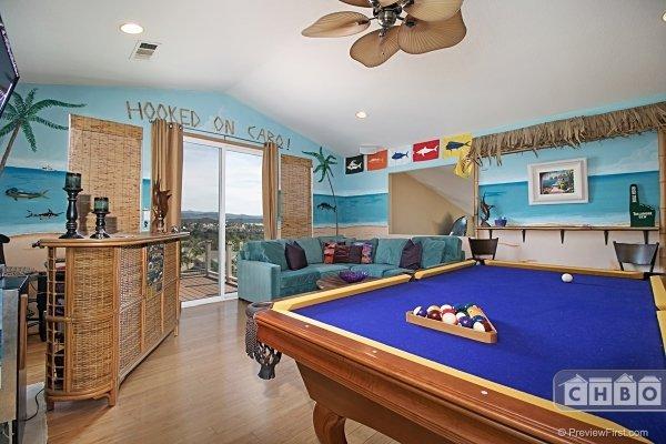 Game Room/Pool Table