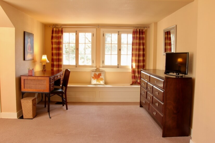 writing desk in master suite
