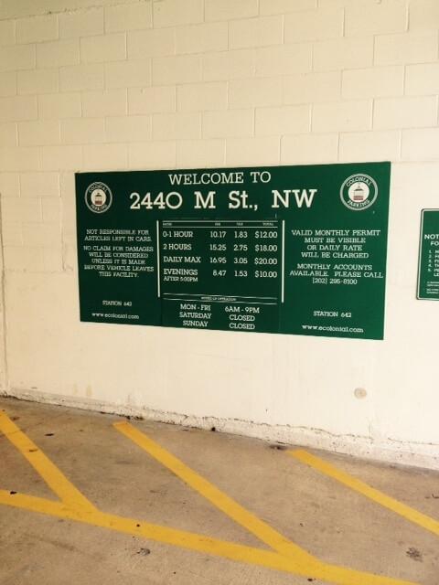 Easy access to Metro Stop M