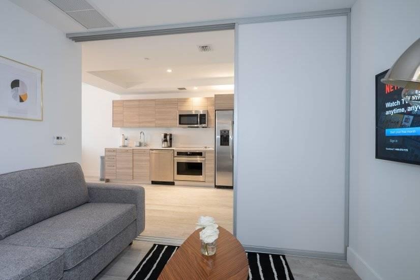 Separate Den with sleeper sofa (slidding door can close)
