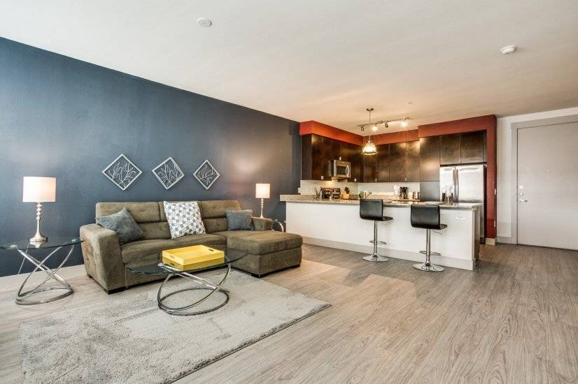 downtown fully furnished 1 bedroom furnished apartment for rent in