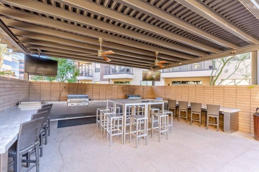 Outdoor Sports Bar / BBQ Area