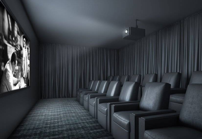 Level28 Amenity Space - Cinema