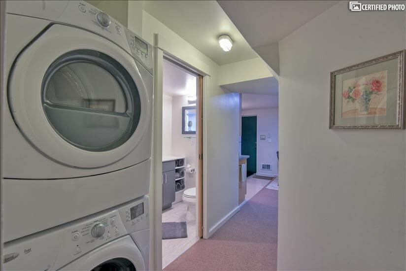 Washer and dryer for tenant(s) use only