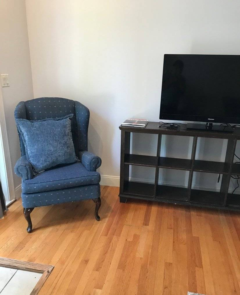 Flat Screen in Living room