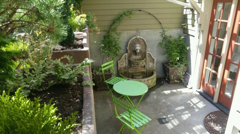 Guest Suite private patio