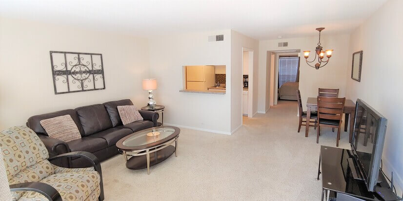 Executive Fully Furnished 1 Bdrm Condo