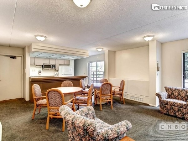 party room for larger gatherings