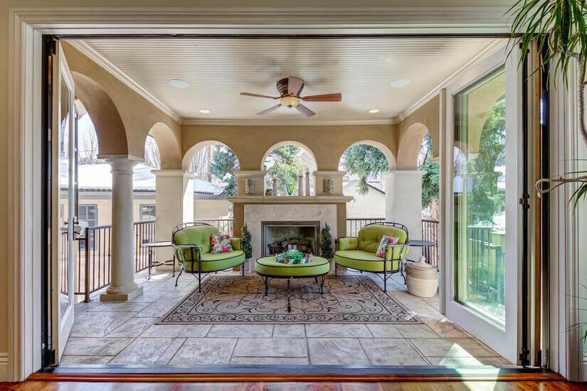 patio off living room