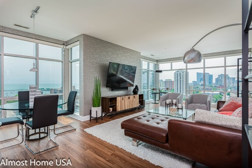 Luxury Furnished Two Bedroom Penthouse