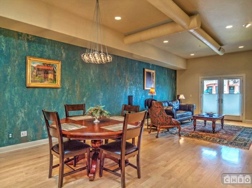 Combined living room and dinning room