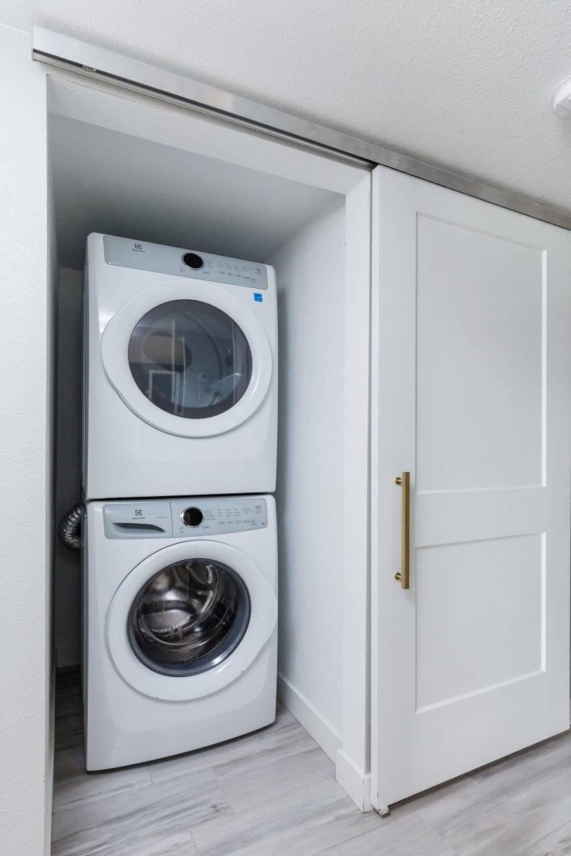 Hi-Capacity Front Loading Laundry IN-Unit