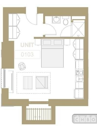 0103 Floor plan-mansion studio