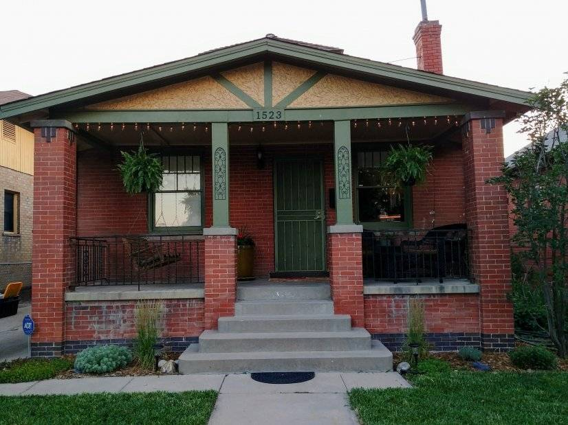1910 brick bungalow