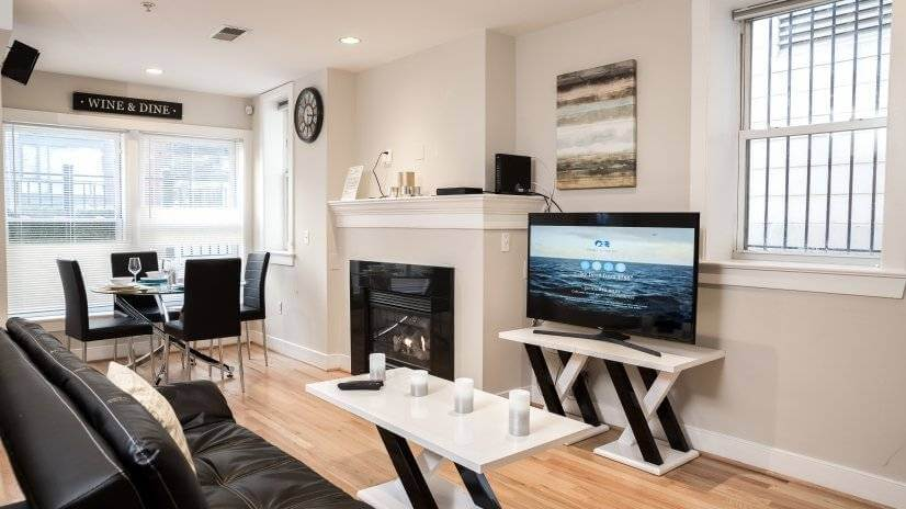 Logan Circle 2 Bedroom furnished Condo