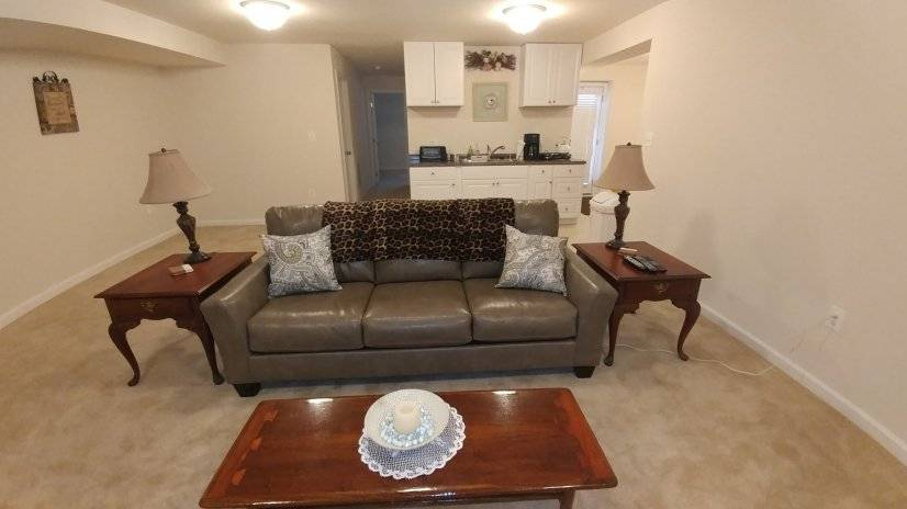 Furnished Basement in Fredericksburg, VA