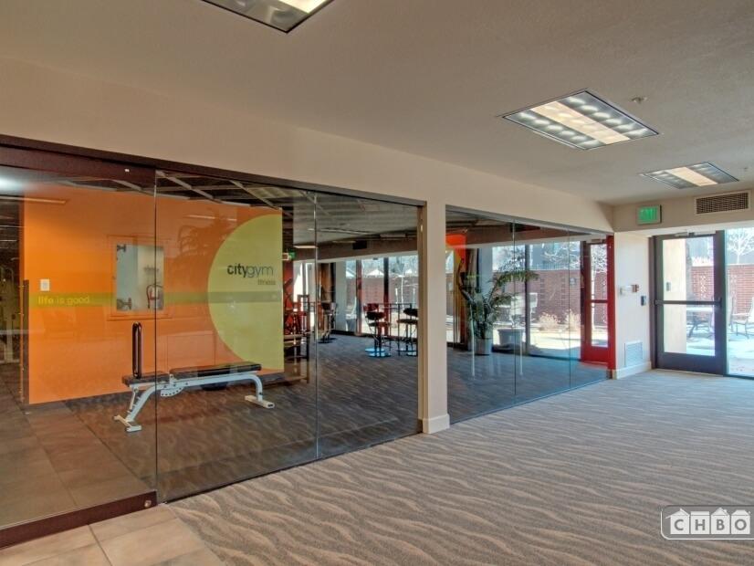 fitness center area