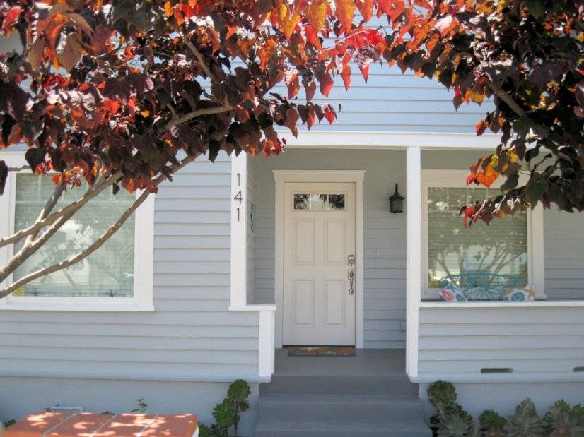 Entry and Cozy Porch