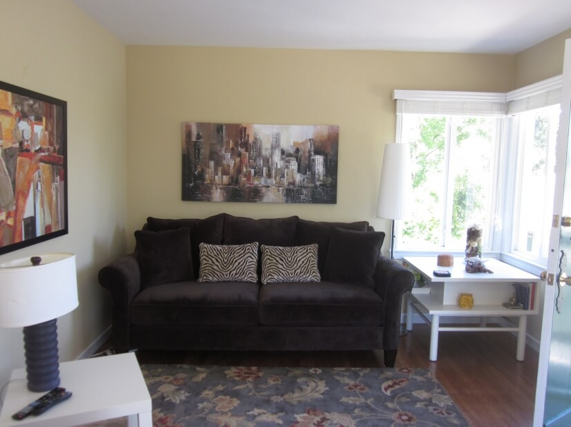 image 1 furnished 1 bedroom Apartment for rent in Burlingame, San Mateo (Peninsula)