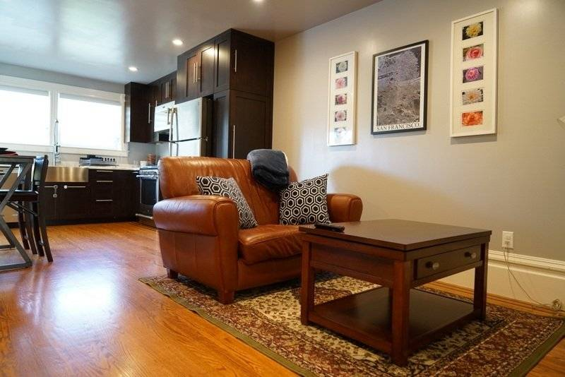 image 1 furnished 1 bedroom Townhouse for rent in Richmond District, San Francisco
