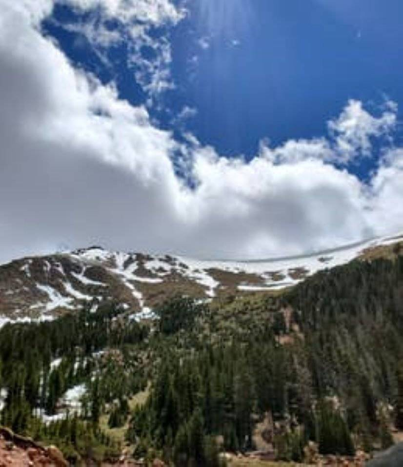 Pikes Peak, a short drive to the top