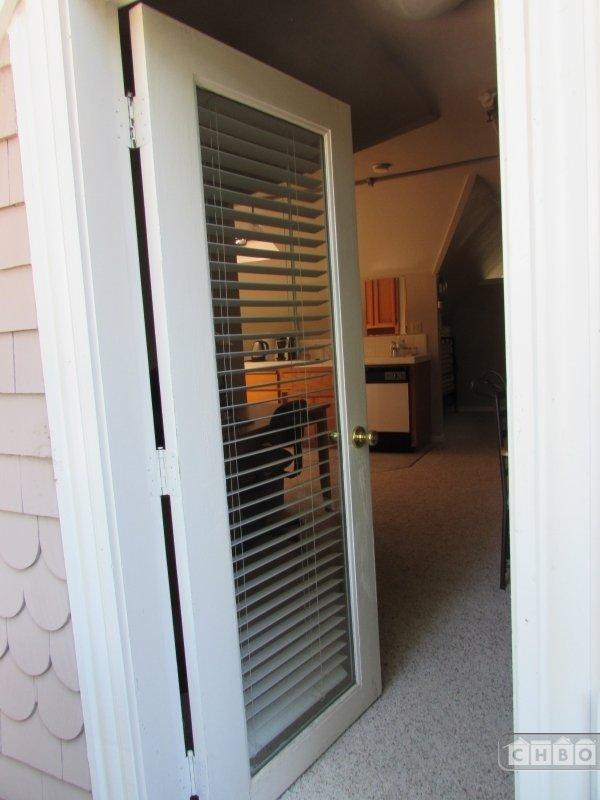 Balcony Door Crow's Nest