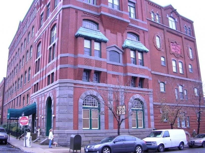 Historic Brewery condo building