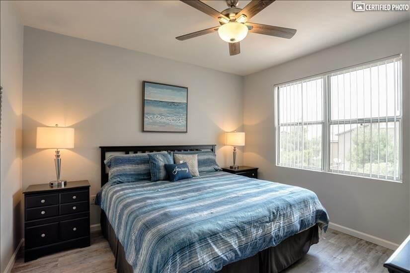 Beach Themed King Bedroom
