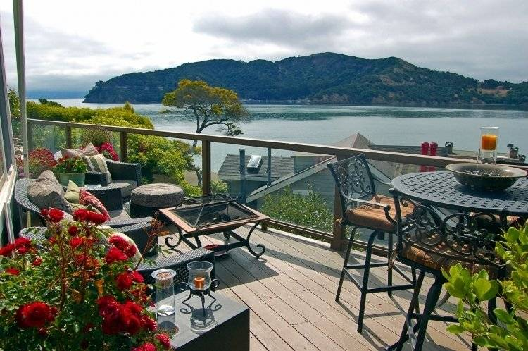 View of Angel Island from Private Deck