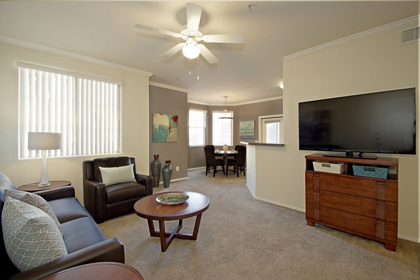 image 1 furnished 2 bedroom Townhouse for rent in Mesa Area, Phoenix Area