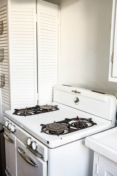 Vintage stove and oven