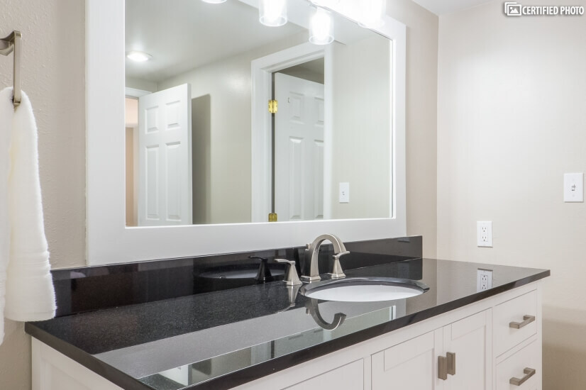 Substantial Countertop on Bathroom Vanity