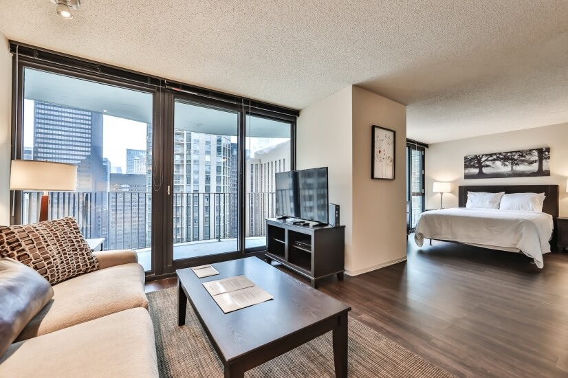 Lakeshore East Convertible-Balcony
