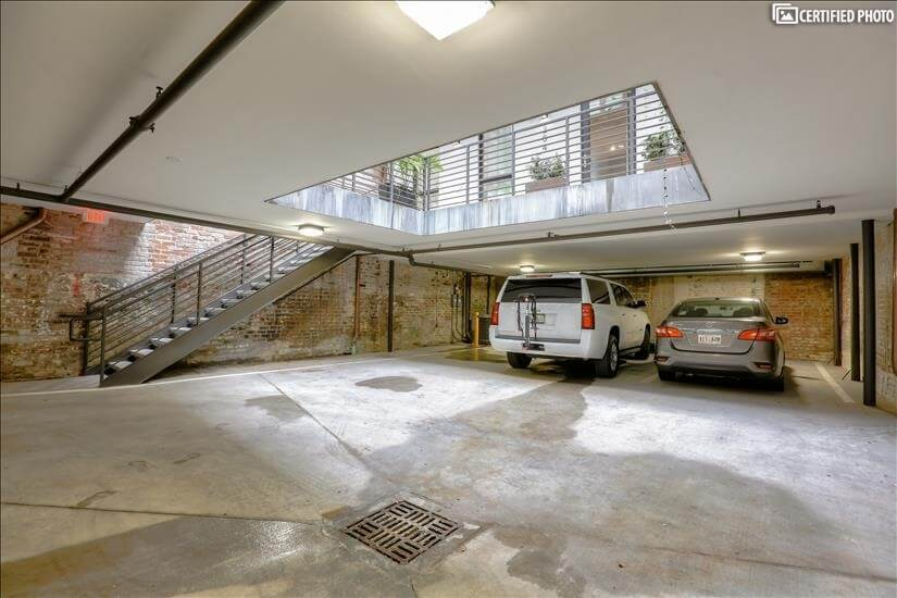 One private parking space available for each residence