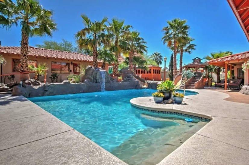 Casita across Pool
