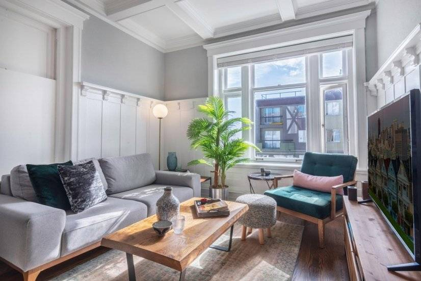 Homey Lower Nob Hill 1BR w/Quaint Lounge