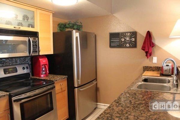 Well stocked kitchen