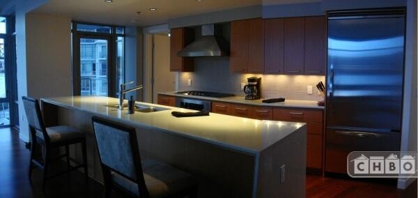 Kitchen / door to deck